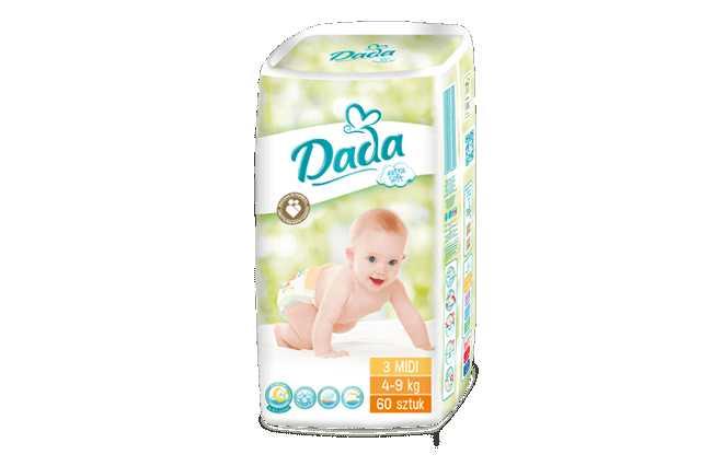 Prodej jednorázových dětských plenek DADA - Pardubice | MIMI Potřeby