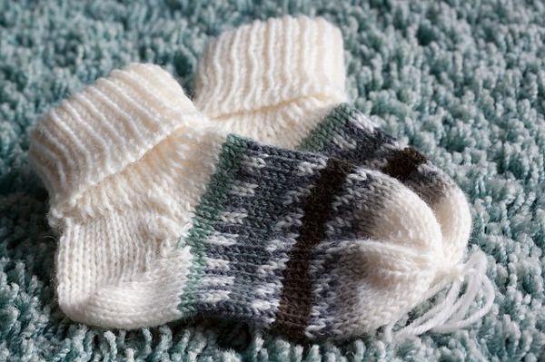 Pletené děské ponožky | MIMI Potřeby