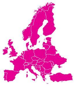Rozdělení zákona vv Evropě - MIMI Potřeby